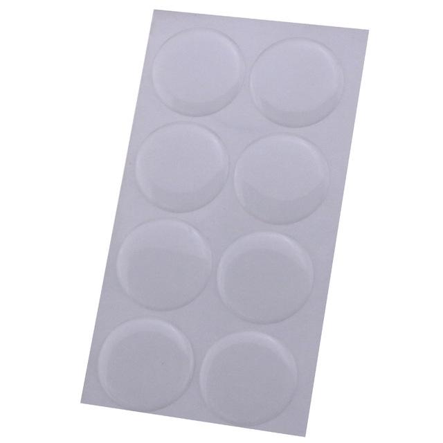 """(100个/包)25MM圆形环氧树脂滴胶1"""" 3D Epoxy Dome Sticker"""