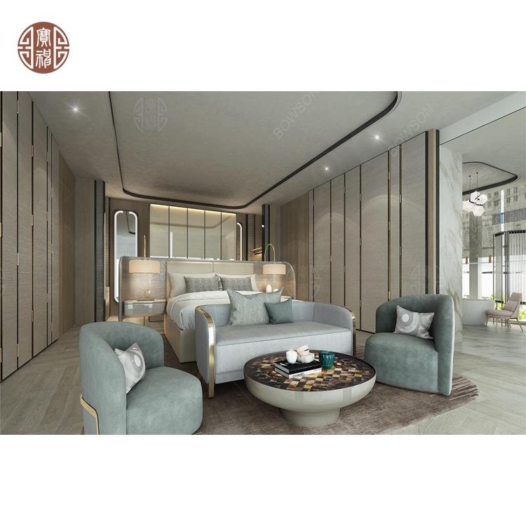 专业定制星级酒店套房家具 酒店客房成套家具 工厂直销来图定制