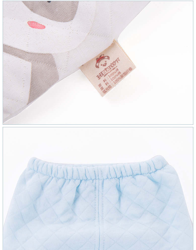 Cotton baby clothes newborn gift set autumn and winter maternal and child supplies NHQE180536