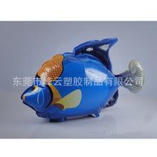 供应PVC充气鲨鱼玩具 充气小丑鱼 魔鬼鱼 充气仿真动物