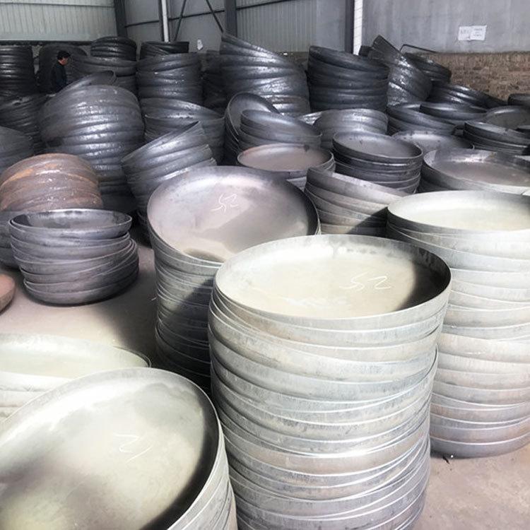 合金碳钢封头大口径管帽Q345B16Mn定制出口高压钢制焊接封头厚壁