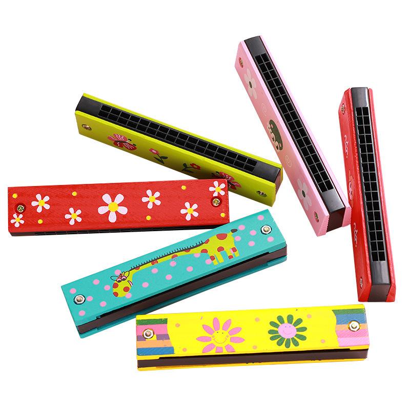 Màu sắc:harmonica gỗ