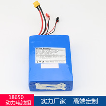 30Q/10S2P/36V/6.0Ah/5C容量可定制,双驱四轮滑板车锂动力电池组