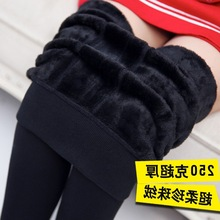 跨境Women Winter leggings pants thic