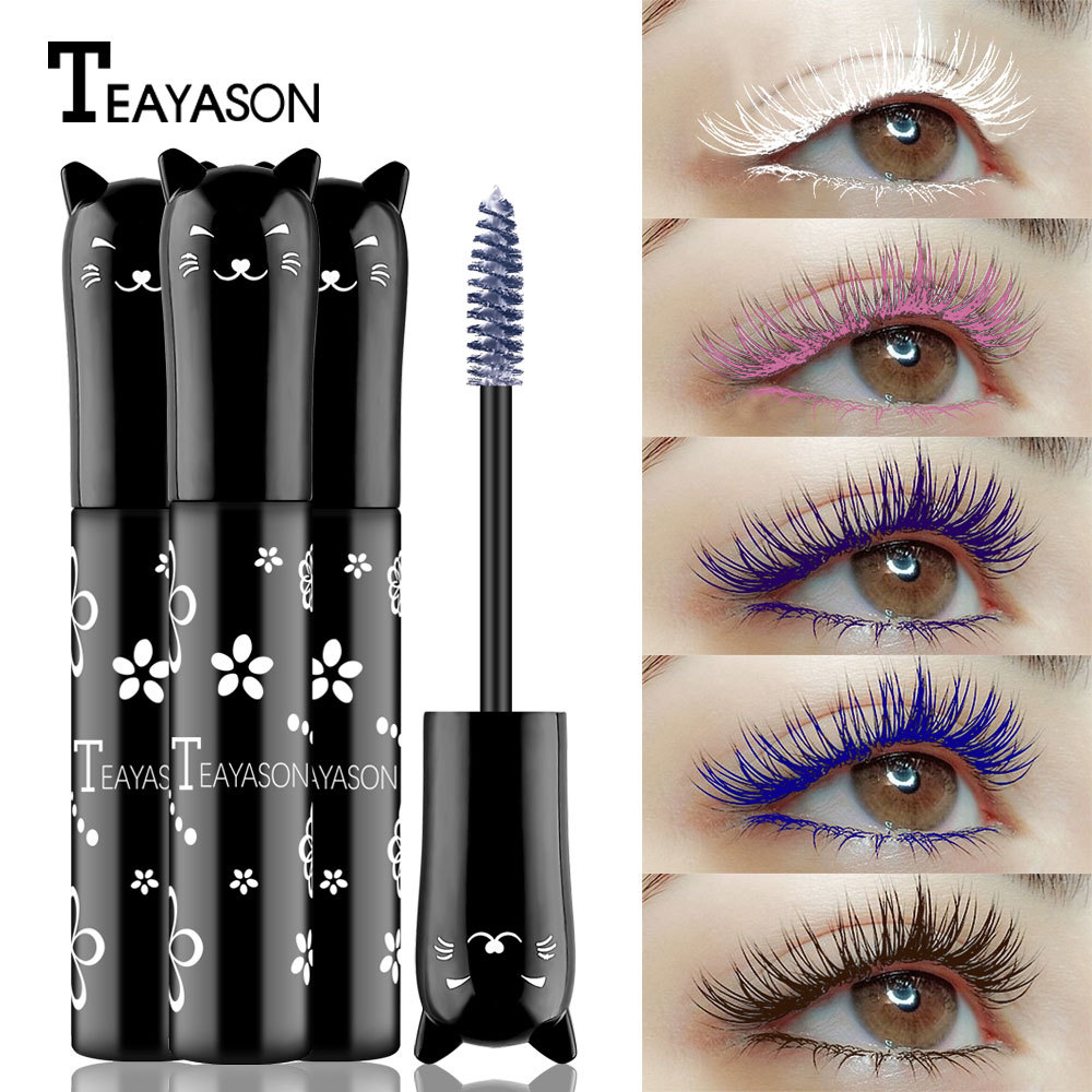 Cross-border TEAYASON Color Mascara Blue...