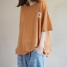 心機t恤女小眾休閑寬松顯瘦薄款短袖ins洋氣2019夏季新款28598