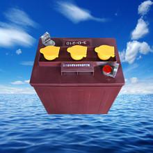 觀光車蓄電池3-D-210A游覽車電瓶3-DG-210A電池6V電瓶一件代發