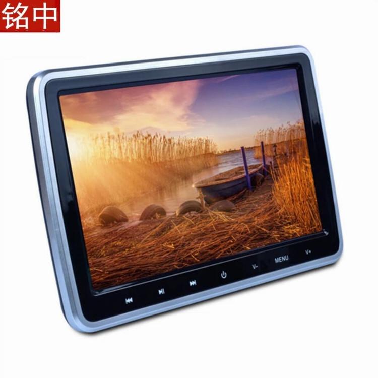 厂家直销 汽车后排娱乐系统10.1寸车载DVD显示屏触摸头枕显示器
