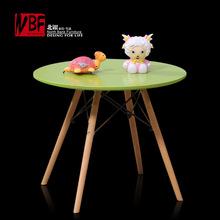 伊姆斯儿童桌 现代实木脚餐桌 简约小朋友学习桌 创意玩具桌椅