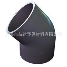 錨牌UPVC彎頭 PVC-U45°彎頭 45度等徑彎頭 灰色美標化工給水管件
