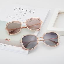 2019新款时尚太阳镜女士网红同款墨镜大框气质时尚太阳眼镜