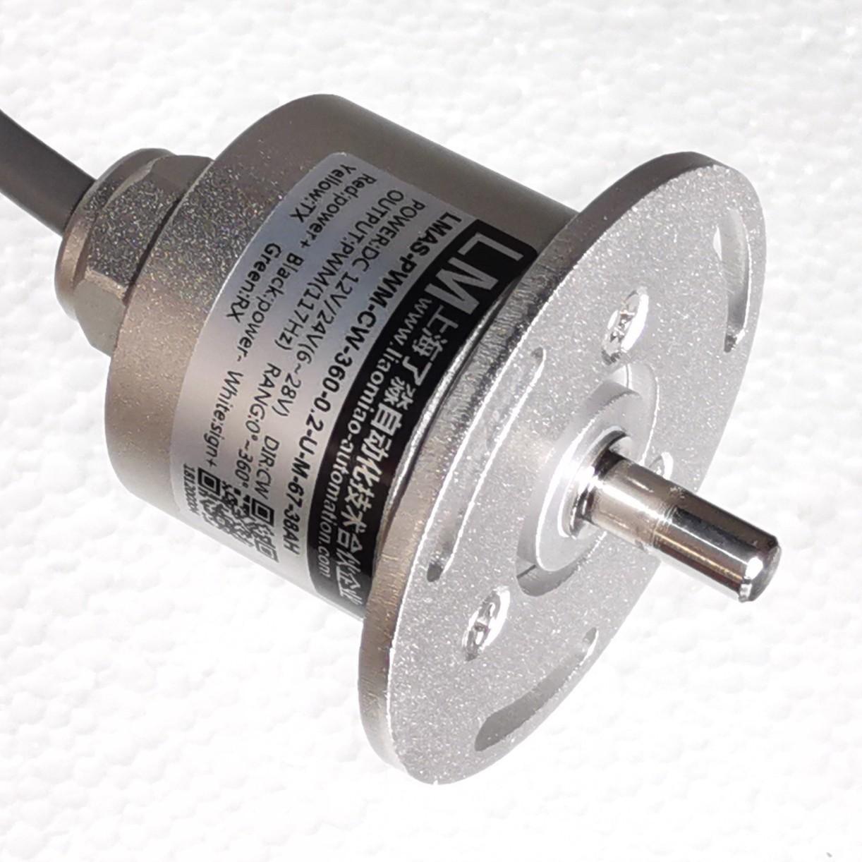 线性精度0.02°/IP68/-40~+85℃/绝对式编码器/角度传感器