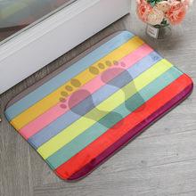 厂家批发加厚法兰绒高密度记忆棉创意个性地毯地垫客厅卧室防滑垫