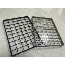 厂家直销手机玻璃耐高温烤架 耐高温PPS带硅胶支点玻璃盖托盘