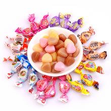 俄罗斯进口多口味水果糖水果?#34892;?#30828;糖500g婚庆喜糖批发零食礼品