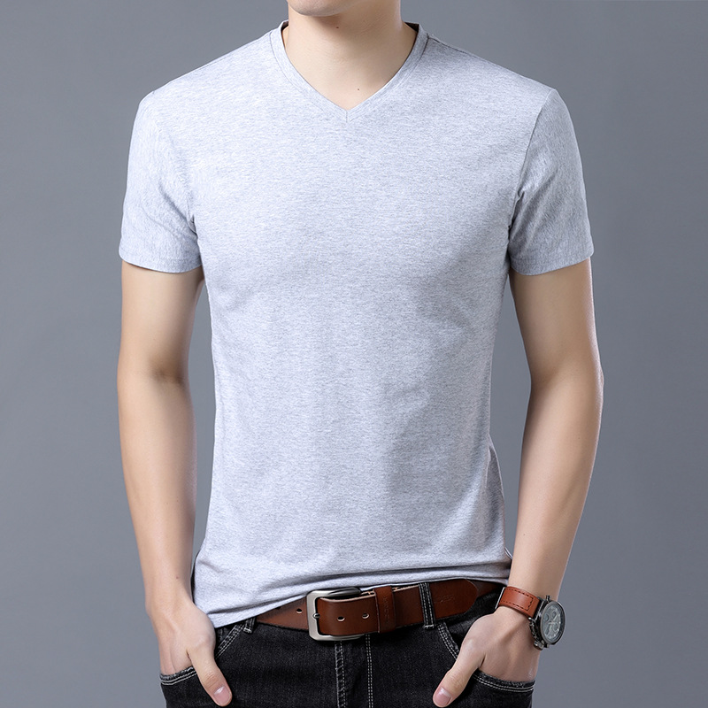 T-shirt homme - Col rond - Ref 3409000 Image 7