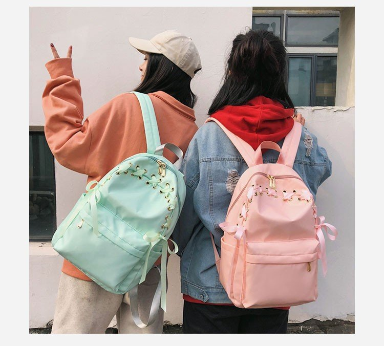 Cotton Fashion  backpack  (red)  Fashion Bags NHHX0972-red