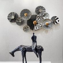 黑白灰色调创意壁挂镂空铁艺挂饰艺术家居特色壁饰挂件墙面装饰品