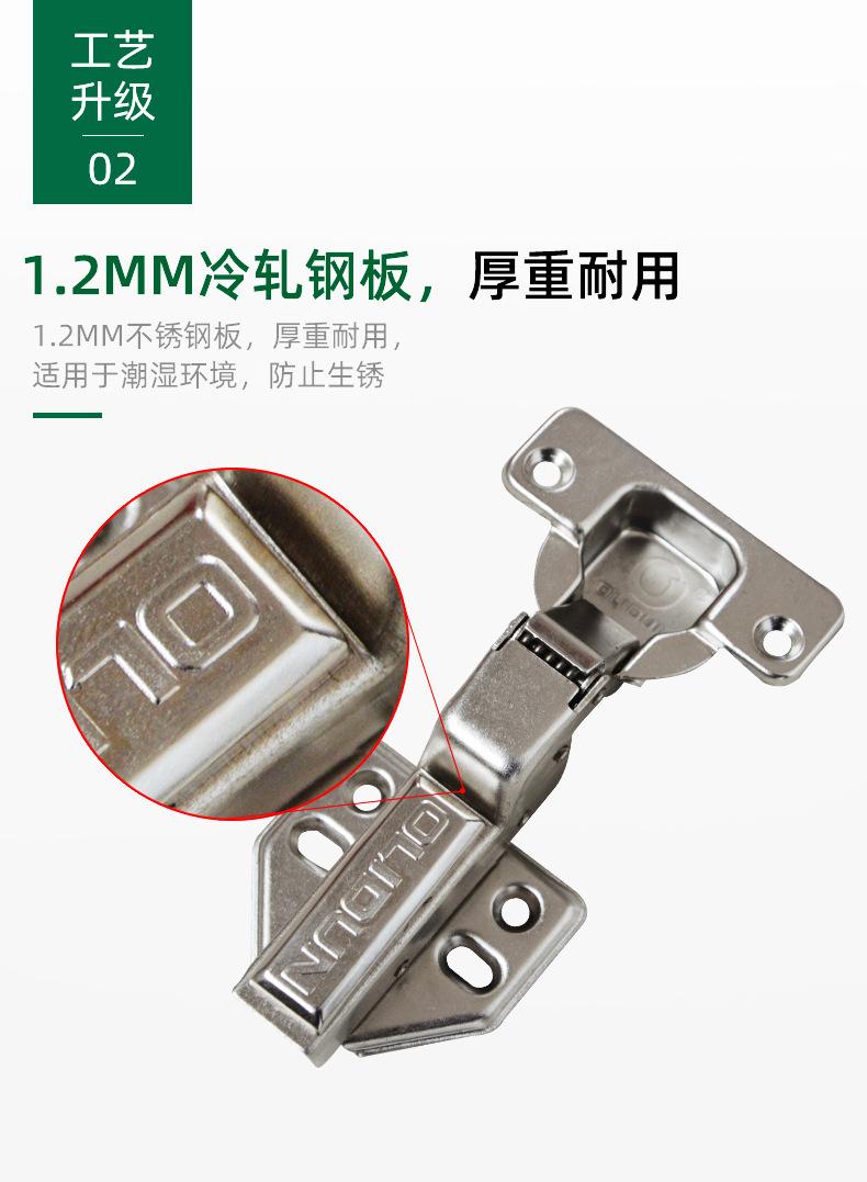 不锈钢液压铰链