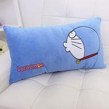 叮当猫睡觉抱枕头长条毛绒玩具轻松熊单双人靠枕卡通创意生日礼物