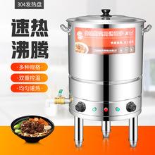 多功能煮面炉商用煮面桶节能单层电热煮面机煮面锅熬粥锅汤卤水炉