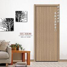 45°高端斜邊靜音門PVC免漆門復合實木門烤漆室內門酒店錄音棚門8