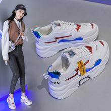老爹鞋女ins运动鞋女学生韩版2019新款透气小白鞋女原宿风跑步鞋