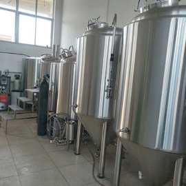 厂家直销定做扎啤机啤酒机啤酒酿造设备精酿原浆啤酒酿酒生产线