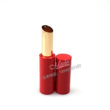 厂家定制斜口螺旋铝管口红管润唇膏管空管口红管化妆品彩妆包材