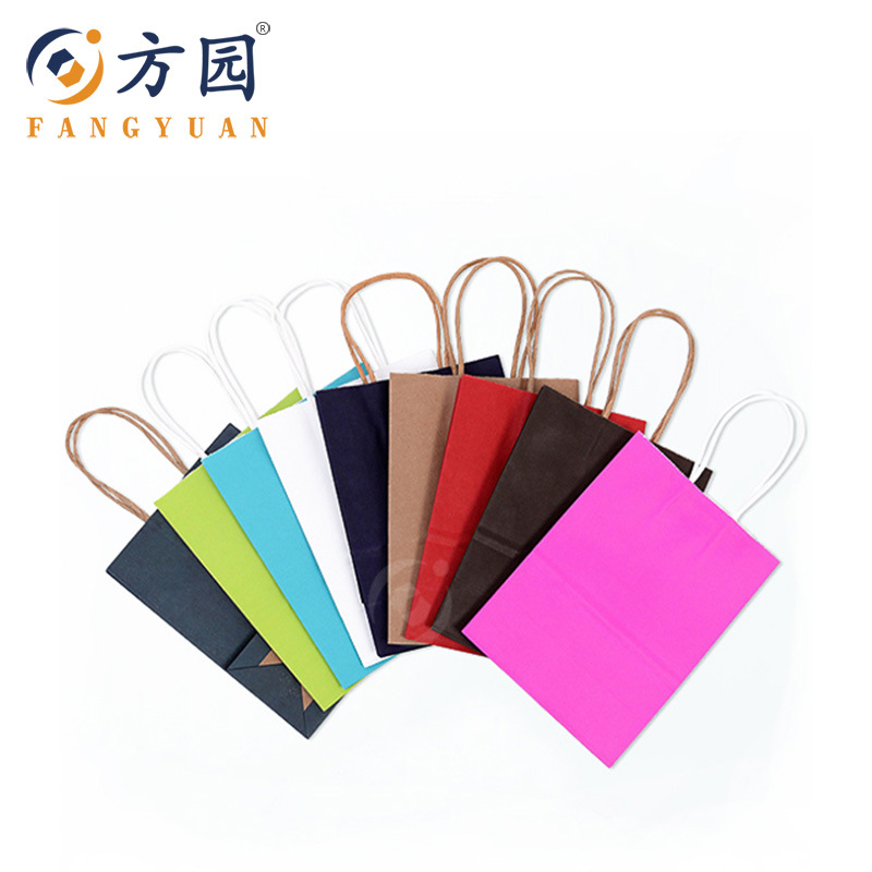 multicolor kraft paper bag-04