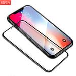 适用iphonex/xr全屏手机钢化膜苹果11/11pro高清防窥膜磨砂游戏膜