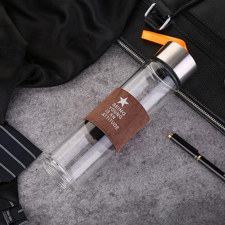 Hot mới quà tặng sáng tạo tùy chỉnh di động văn phòng kinh doanh kính chén trà ly thời trang bán buôn Cốc văn phòng