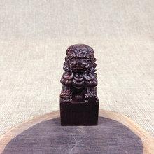 庙会地摊热卖小摆件木质雕刻核桃抓周用品貔貅方章把玩件手把件