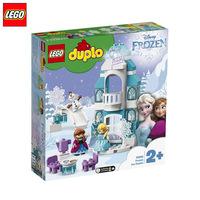 8月新品LEGO乐高积木得宝系列10899艾莎冰雪奇缘城堡儿童玩具现货