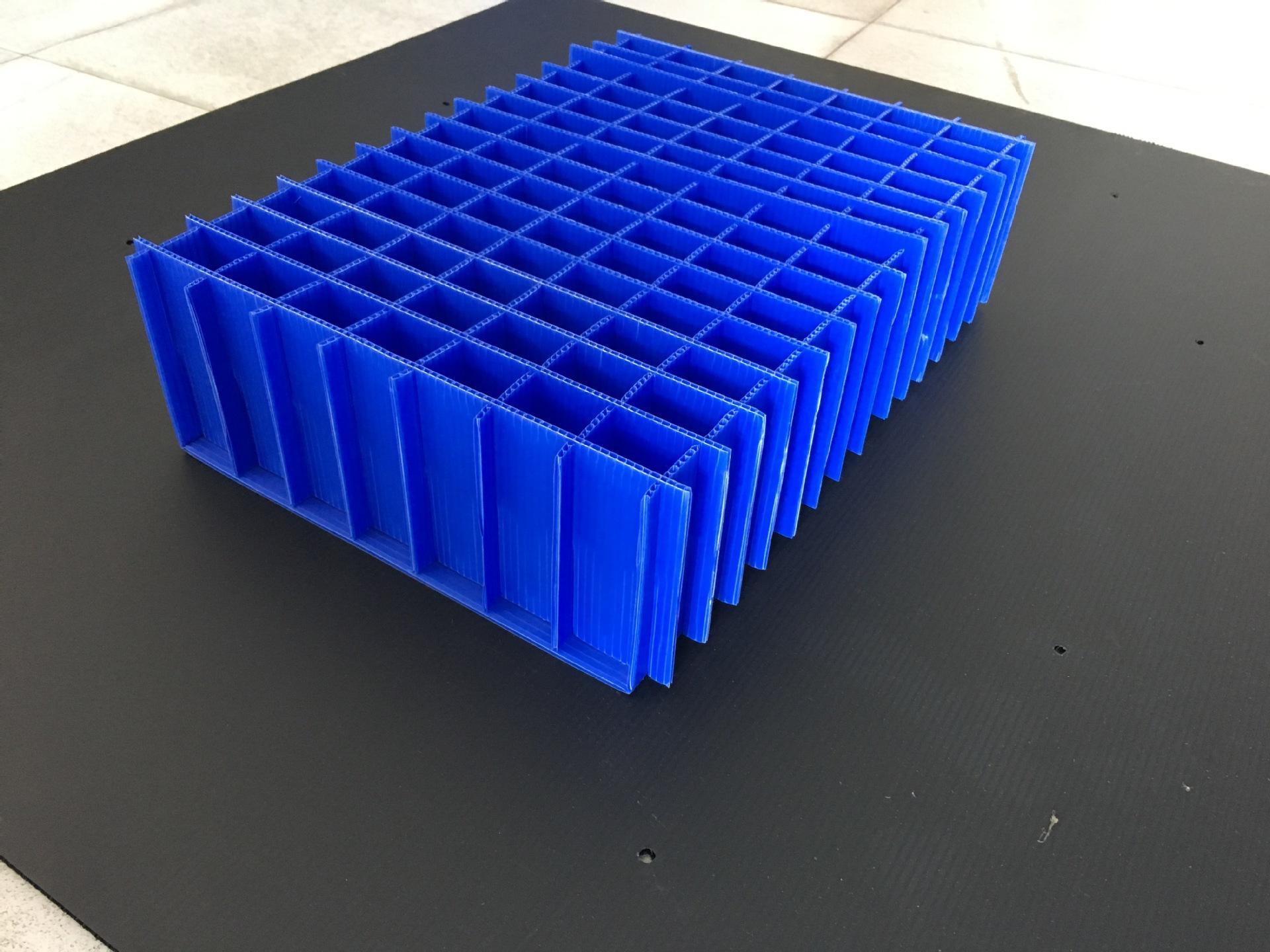 热销塑料中空板刀卡 中空板隔板 中空板刀卡盒 源头厂家