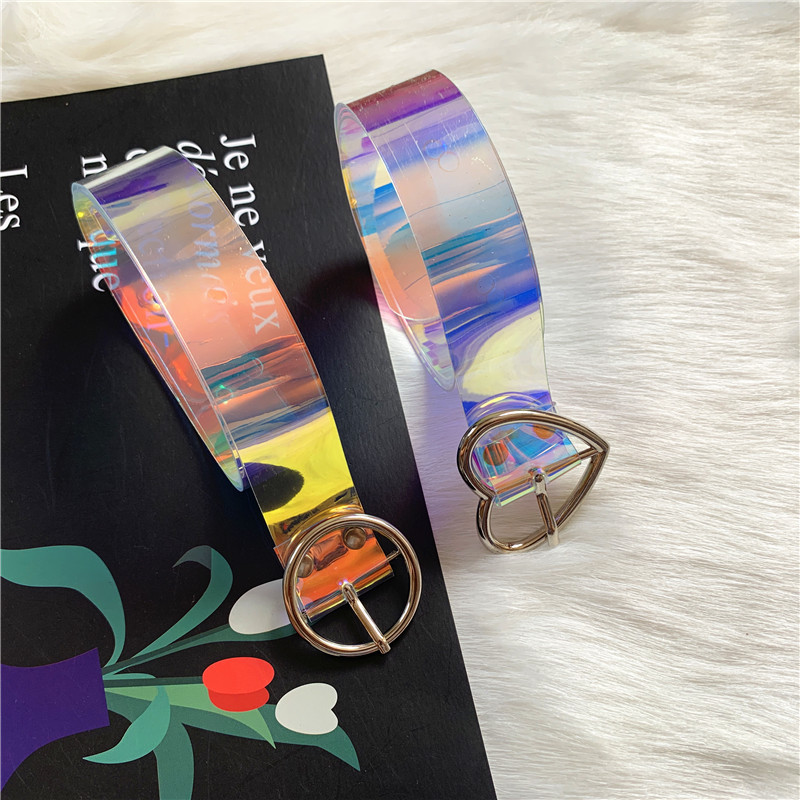 fashion colorful pvc belt  NHWP336903
