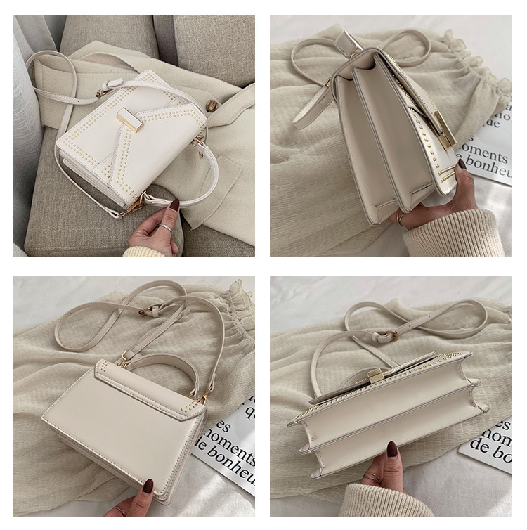 Women's new wild one-shoulder messenger fashion portable small square bag NHTC195640