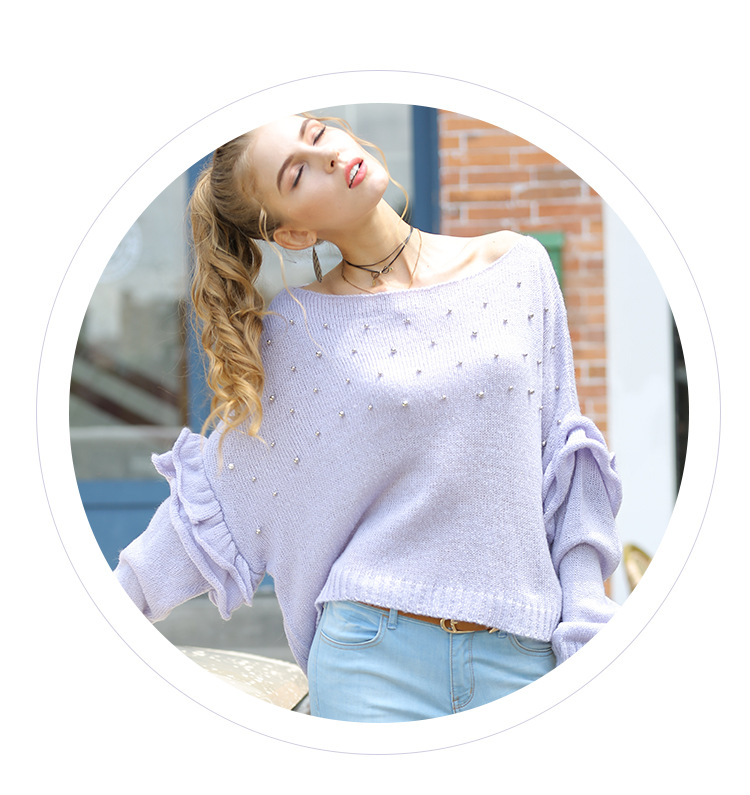 women's new loose sweater NSYH9736