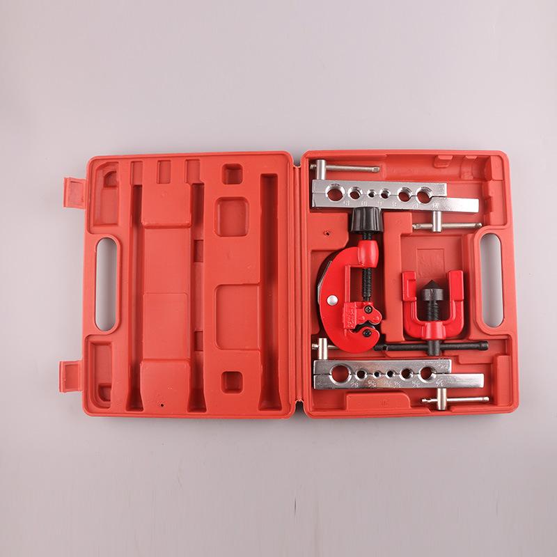 厂家供应制冷工具公制7件套胀管扩孔器组套(镀铬)合金钢