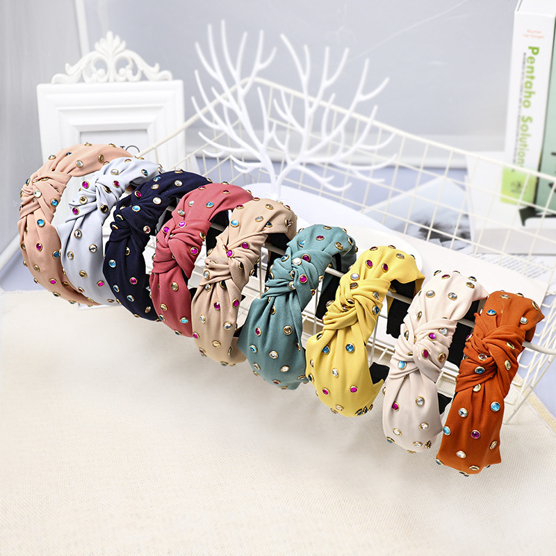 Womens Bow Handmade Cloth Honey House Jewelry Hair Band & Headbands NHOU128925