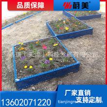镀锌板花圃花园种植箱景观花箱防腐花箱室外花箱道路花箱种植方格