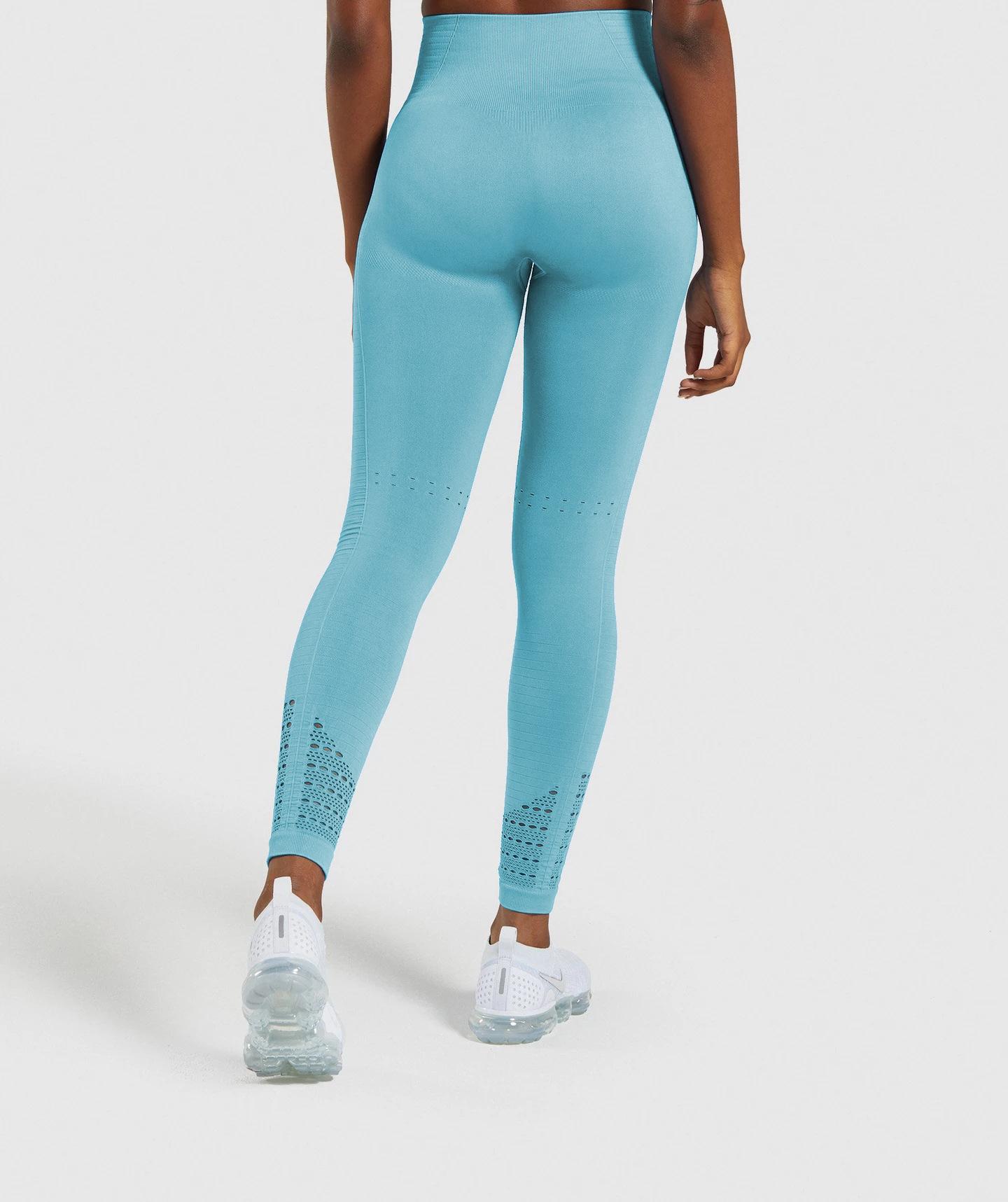 hollow high waist tight-fitting hip-lifting seamless sports pants  NSLX9719