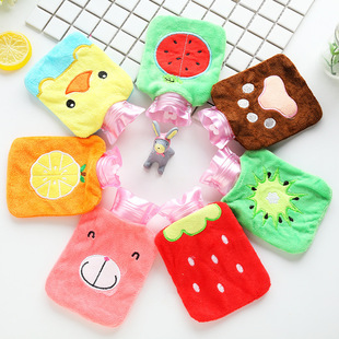 New cartoon mini cute warm water bag explosion-proof water-filled removable and washable hand warmer plush hot water bottle