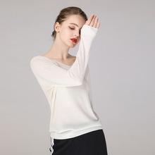 秋冬圆领针织衫女纯色修身低领羊毛衫套头弹力大码长袖打底薄毛衣
