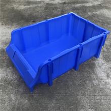 塑料零件盒組合式斜口盒螺絲五金物料收納塑膠盒子組立式塑料貨架
