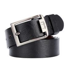 Ngoại thương mới vụ nổ bán nhanh xuyên biên giới pin thường xuyên khóa thắt lưng nam từ Nhật Bản khóa mô phỏng da giản dị vành đai Pin khóa thắt lưng