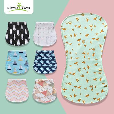 货源跨境工厂婴儿喂奶巾打嗝布垫布三层防水哺乳巾母婴用品亚马逊热销批发