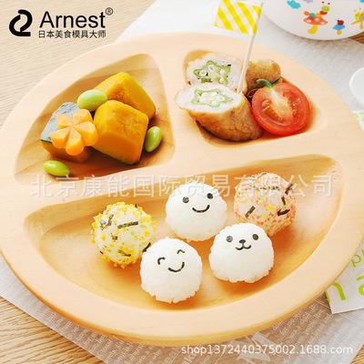 货源Arnest丸子制作器小圆球饭团摇摇乐模具宝宝餐具厨创意房寿批发