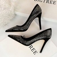 629-1 Slender High-heeled Shoes in Fashion and Sexy Night Clubs in Europe and America