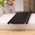 厂家直销HB圆杆哑光黑树脂素描绘图铅笔可定制logo酒店会议广告笔